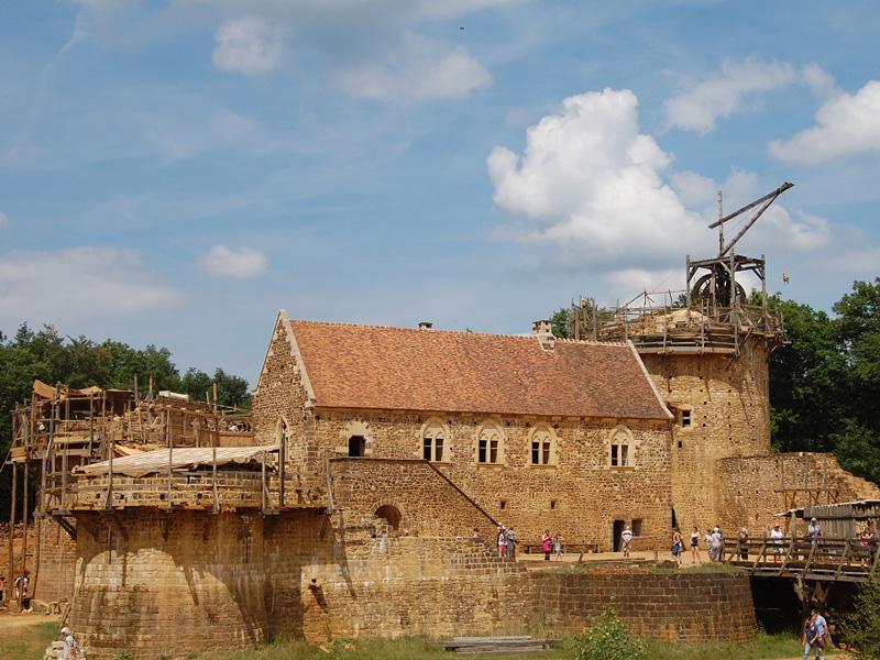Guedelon kasteel bourgone