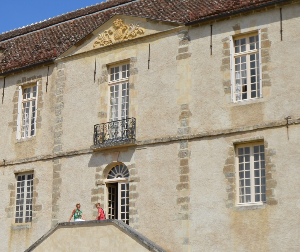 Chateau Bazoches in de Morvan