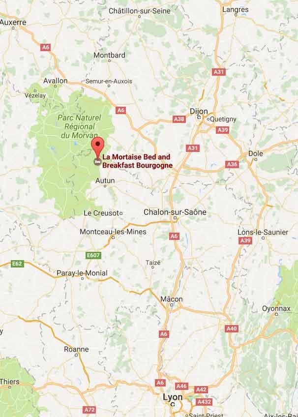Chambres Dhtes Morvan Bourgogne